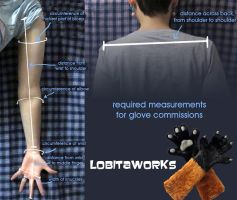 LobitaWorks Glove Measurement Guide by LobitaWorks
