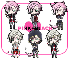 :pinkblack-terence fleleshell: by rann-poisoncage
