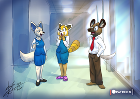 Monthly Character - Retsuko and Friends by StarWarriors