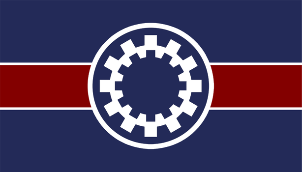 Flag of the Union of Independent Systems by RvBOMally