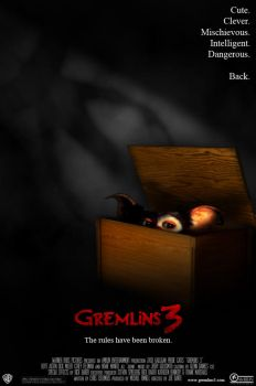 Gremlins 3 - Movie Poster by fauxster