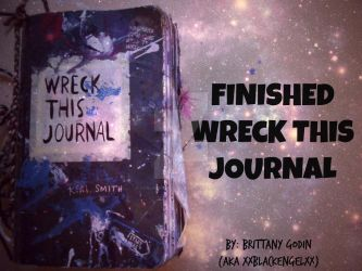 YOUTUBE (link in description) Wreck This Journal by xxblackengelxx