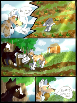 comic page 1 by TheSatisfideDoge