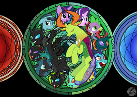 Thorax Stained Glass by Ashidaru