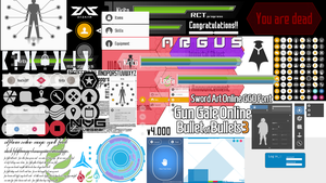 Sword Art Online - Vector Graphics _ All in one. by darkblackswords