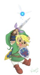 Bear Link by NanaNera