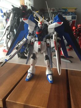 HGCE Freedom Gundam Revive ver by XrosBrony