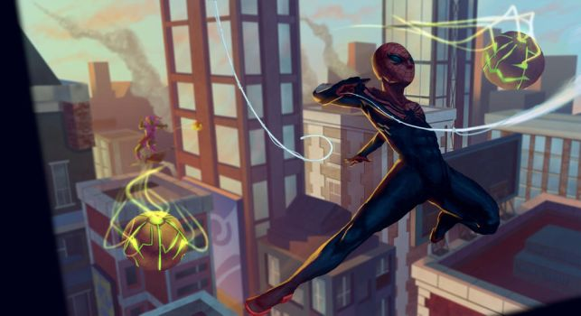 Superior Spider-man fan art by Orchetto