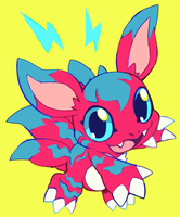 elecmon by extyrannomon