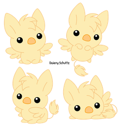 Chibi Griffin by Daieny