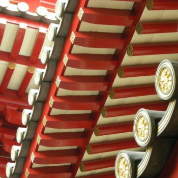 Chinese Temple detail by Ann0nyme