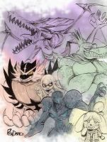 Smash Monsters! by PenDracoNero