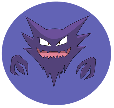 POKEDDEXY 2015 DAY 9 - Ghost - Haunter by Ninja3lf