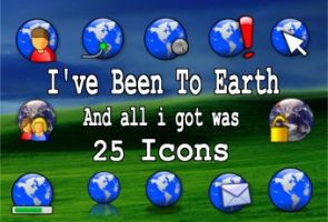 25 globe icons by zman3