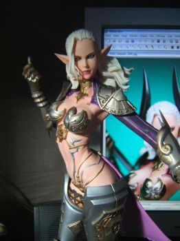 TERA Castanic garage kit by jbtigre