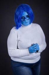 Sadness cosplay from Inside Out by MissSleeper