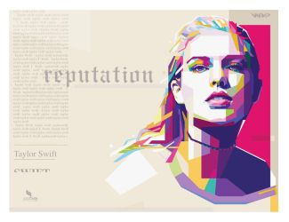 Taylor Swift Reputation - by @opparudy by opparudy