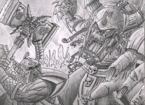 Epic-battle by Listerian
