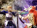 The Smite of Fate - Saber and Artemis Cosplay by 20Tourniquet02