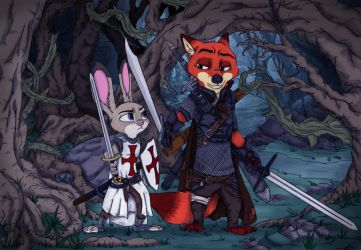 The Cursed Crusade by Ziegelzeig