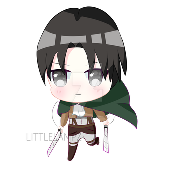 Levi Ackerman [CHIBI] by LittleLampz