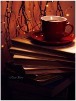 Books and Tea by Lady-Mystica