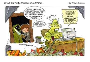 the worst kind of trolls- rpg comic by travisJhanson