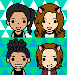 FaceQ ASP295 And Kynixi by Agent-SP295-HQ