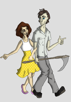 Jonathan and Alice by Firsher