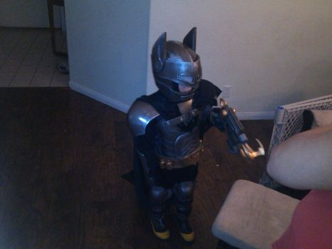 My Sons Halloween Costume 2015 by Bag-of-hammers