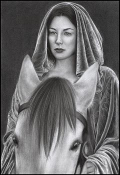 Liv Tyler as Arwen by D17rulez