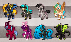 MLP adopt batch! (CLOSED!) by DandyDuo