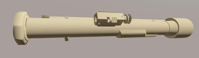 Fictional Guided AT4 launcher WIP, for Arma 3 by EricJ562