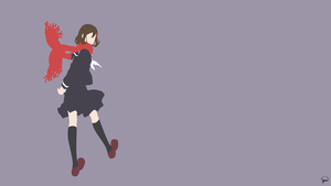 Ayano Tateyama (Mekaku City Actors) Minimalism by greenmapple17