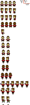 Mario Sprites (Undertale) by Heart-The-Legend