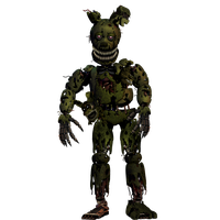 Nightmare Springtrap by Shaddow24
