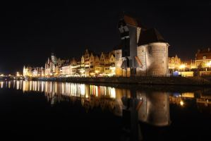 Silent Night in Gdansk by Dybcio