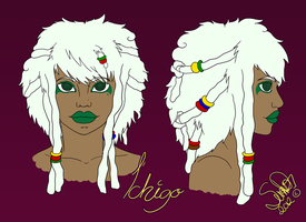 Iphigenia Face n' Hair Re-Design by Undead-Potatoes