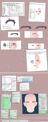 PMD/X head editing tutorial pt3 - Texture by Seo-MMD