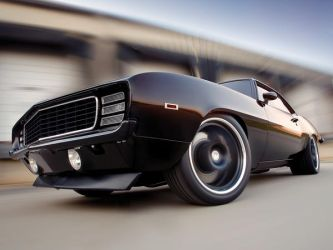 the muscle car by azest911