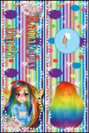[Bookmark] Rainbow Dash by StrawberryCakeBunny