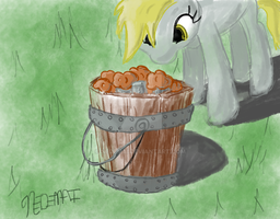 Derpy Find Muffins! by Nedemai