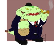 Big Buisness Tahm Kench by dramateen01