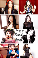Happy Birthday Jenna Ushkowitz!!! by Before-I-Sleep