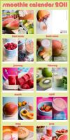 Smoothie Calendar 2012 by mnoo