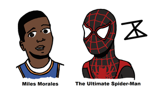 Miles Morales is The Ultimate Spider-Man by FreakyComics