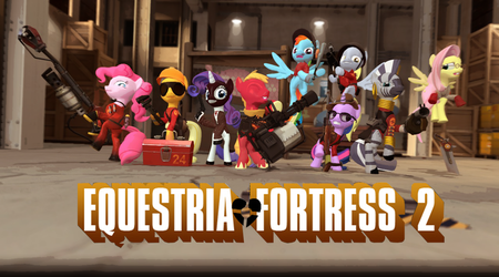 [DL]Equestria-Fortress! by CobbaltCO