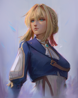 Violet Evergarden by bayuhrd