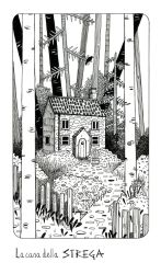 The witch's house by Lu-Art
