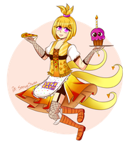 Chica (AT) by JustALittleZombie
